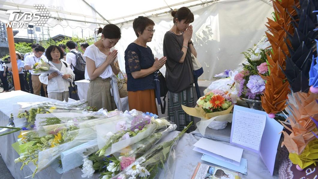 圖/達志影像美聯社 京都動畫縱火案滿一個月 嫌犯仍重傷住院