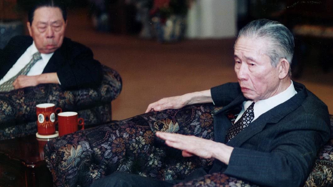 台塑企業創辦人王永慶(右)。(圖/翻攝自台塑企業官網)