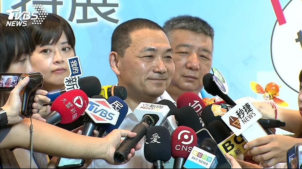 圖/TVBS 拒接韓新北競總主委 侯友宜:以市政為最大考量