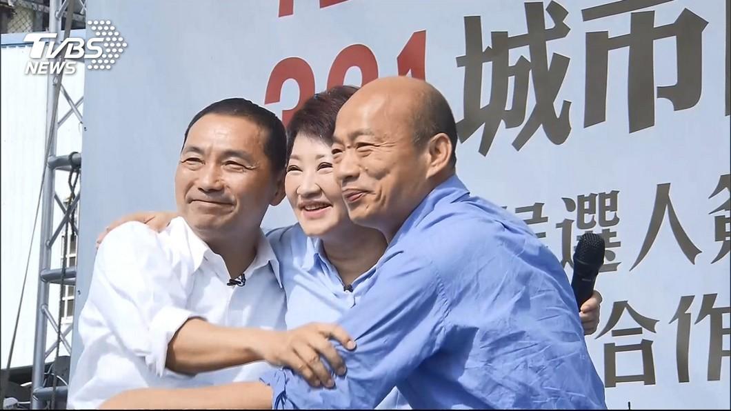圖/TVBS 侯友宜不接韓競總主委 她力挺:誰來當有差嗎?