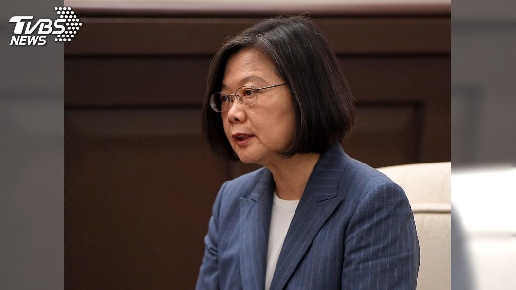 圖/中央社 總統:關心香港但不介入 籲北京勿錯判造成遺憾