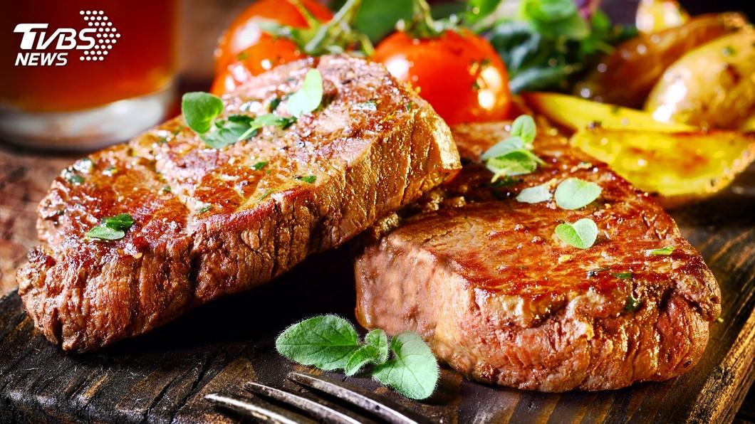 圖/中央社 吃牧草「天然的尚好」  日本牛排美味無敵
