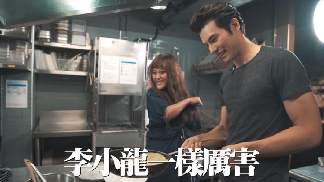 圖/翻攝自相信音樂BinMusic 瘋拍Vlog!煮飯超逗趣 陳昇、家家為宣傳下廚