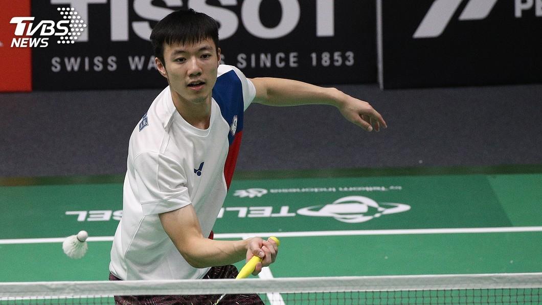 圖/中央社 羽球世錦賽僅花34分鐘 王子維輕鬆過頭關