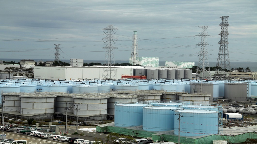 圖/達志影像美聯社 再三年!2022福島汙水槽滿 核電廠頭疼