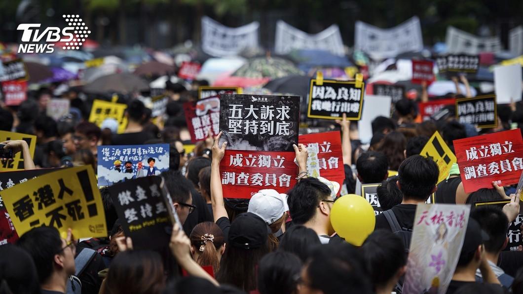 圖/達志影像美聯社 港抗爭重返理性 外媒:讓北京無理由干預