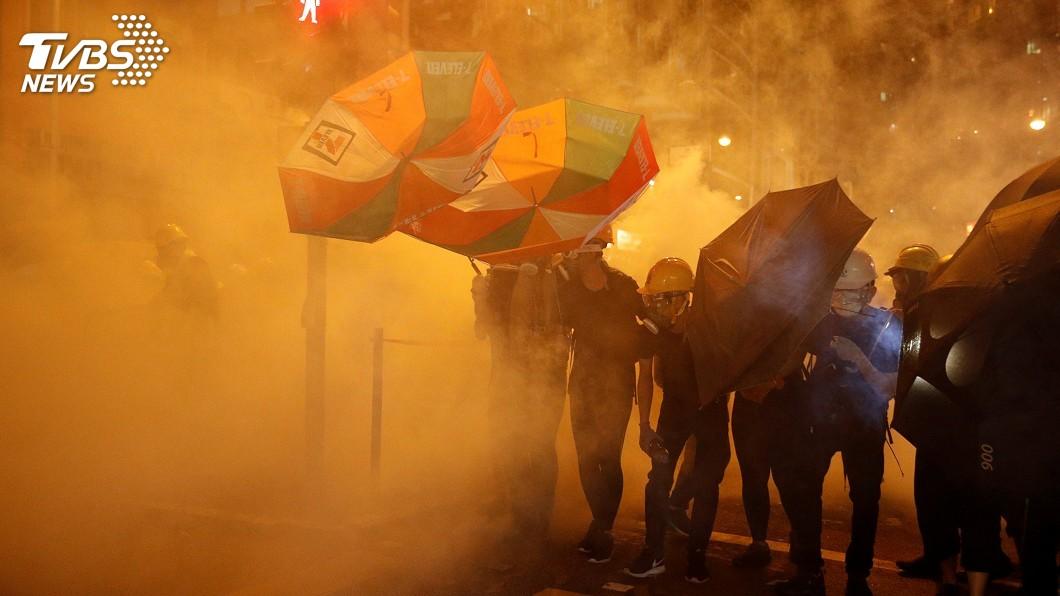 圖/達志影像路透社 彭斯籲尊重香港法律 中國稱對港決定不受美影響