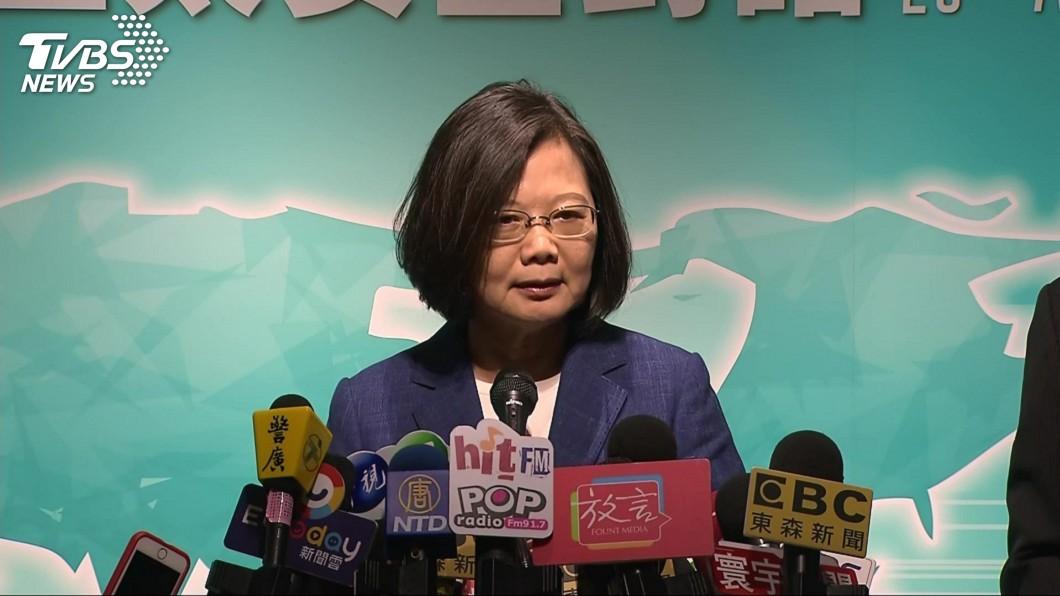 圖/TVBS 韓國瑜發聲明感謝美軍售 蔡總統:不知他以何身分