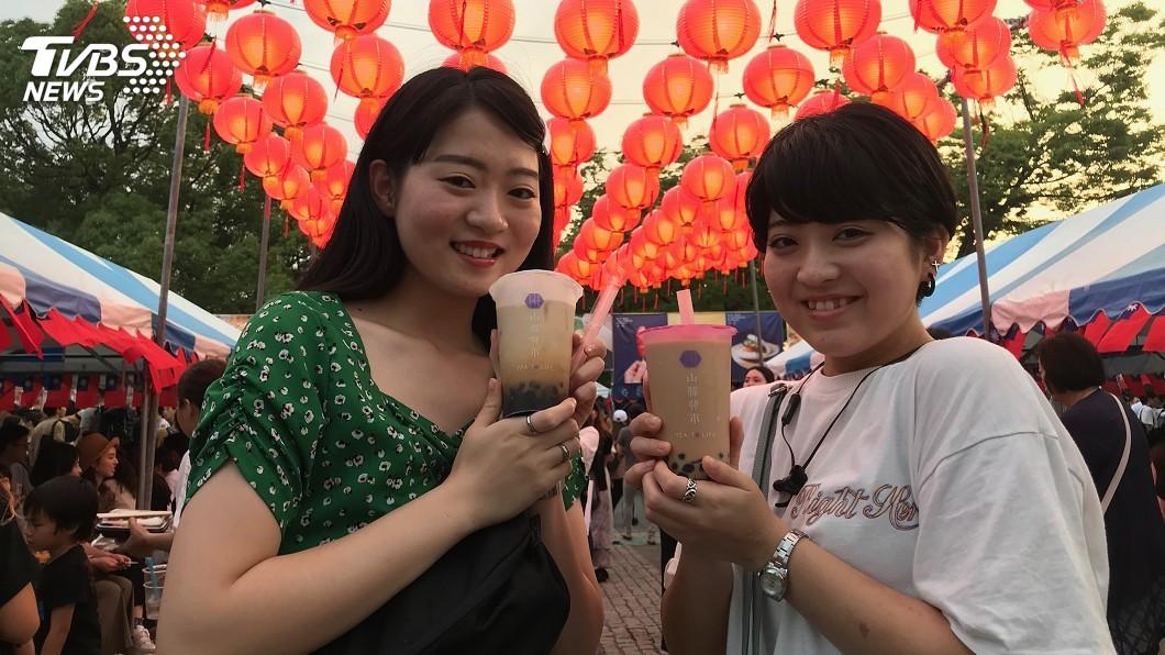 圖/中央社 珍奶席捲日本進口粉圓創新高 約9成來自台灣