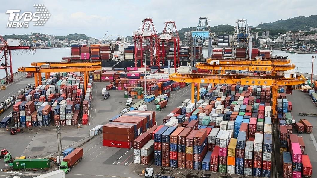圖/中央社 外銷訂單連9黑 7月外銷訂單年減3%