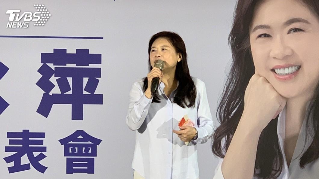 圖/中央社 遭黃國昌指是樂陞案門神 李永萍寄存證信函