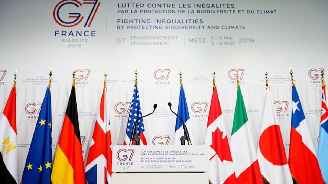 圖/截自G7 Facebook 臉書專頁 G7高峰會 改善世界經濟醫療的inequality!
