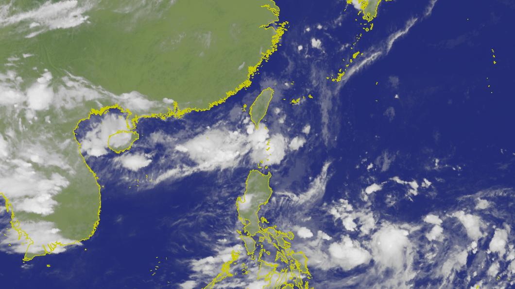 圖/中央氣象局 準颱風「白鹿」週末恐侵台 可能路徑曝光