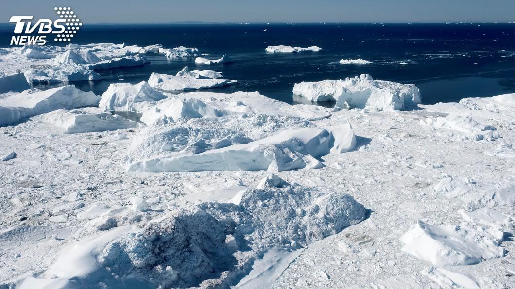 示意圖/TVBS 格陵蘭日融125億噸冰 全球海平面恐飆升