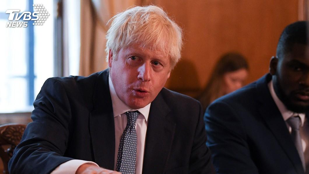 圖/達志影像路透社 英相強生想重啟脫歐談判 遭歐盟打槍