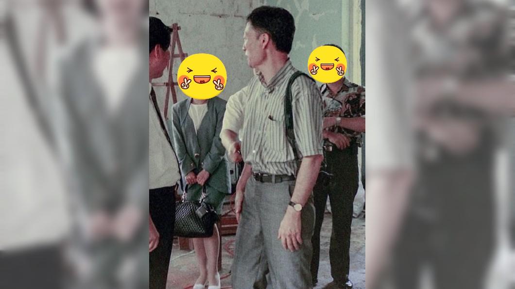圖/翻攝自盧秀燕臉書 跟一波舊照潮 盧秀燕「窄裙辣腿照」曝光!神秘男成亮點