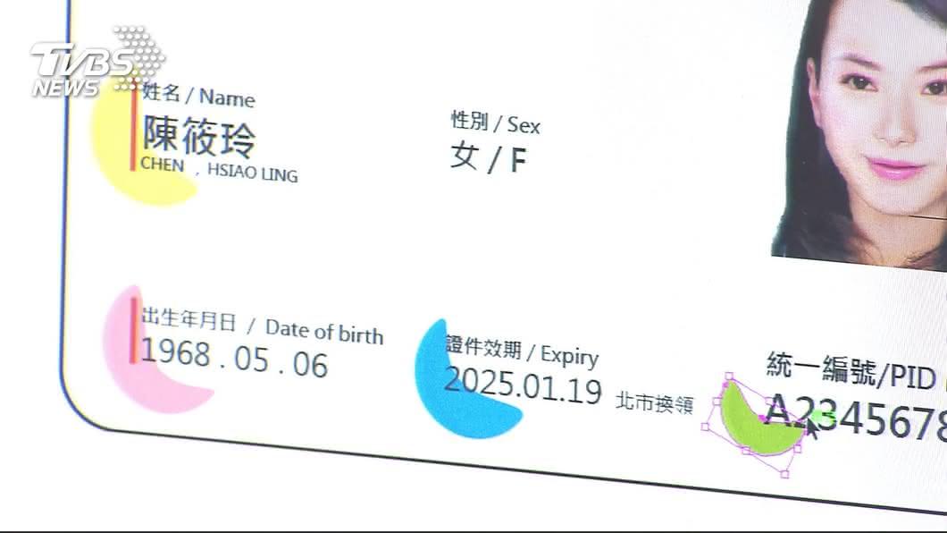 圖/TVBS 學者:數位身分證外顯資料少 個資外洩疑慮不高