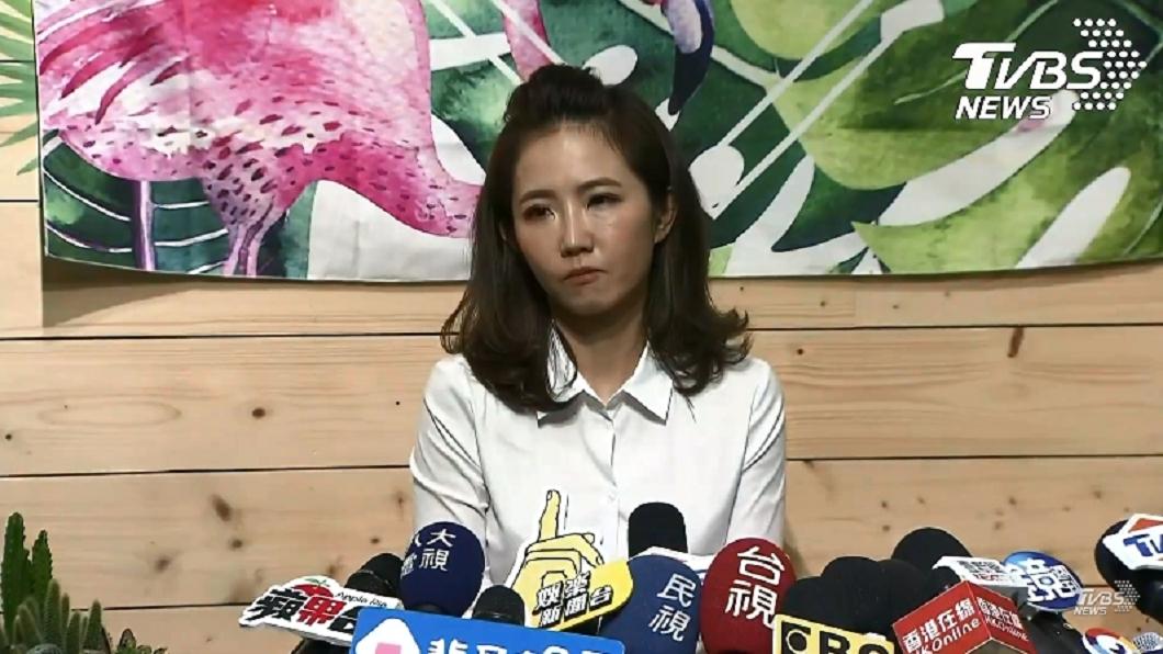 圖/TVBS 謝忻「道歉記者會」全文看這!被問鯉魚精附身瞬間垮臉