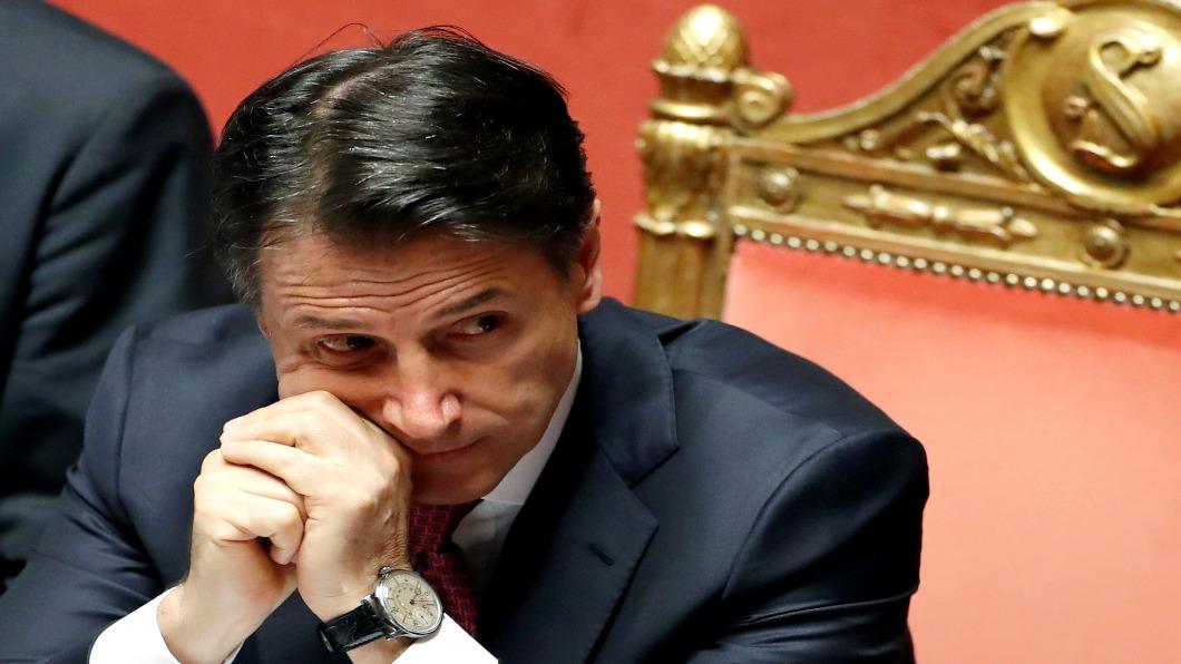 圖/達志影像路透 聯合執政副總理逼宮 義大利總理請辭下台