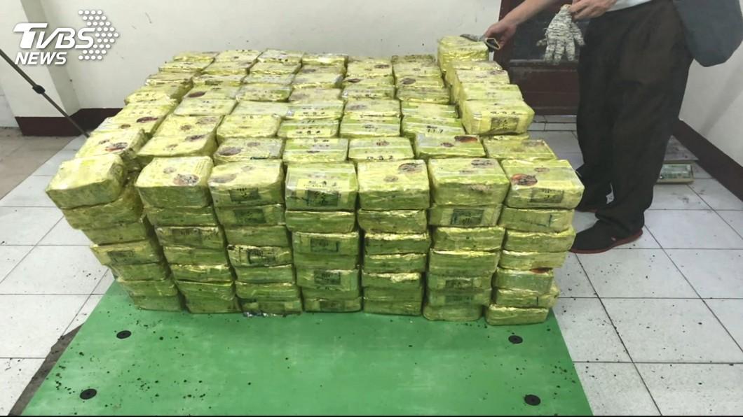 圖/TVBS 越南茶葉藏安非他命400公斤 黑市價20億