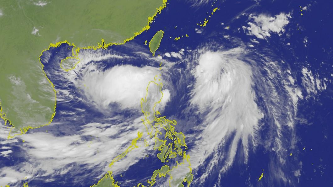 圖/中央氣象局 颱風白鹿最快明早海警 「這天」影響最劇!路徑曝光