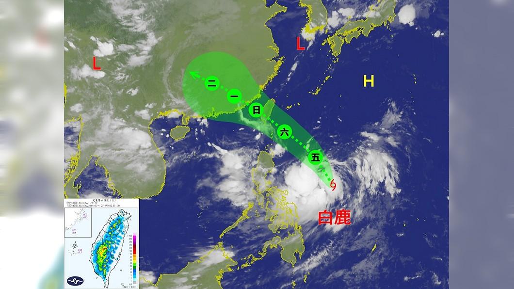 圖/翻攝自台灣颱風論壇|天氣特急 臉書