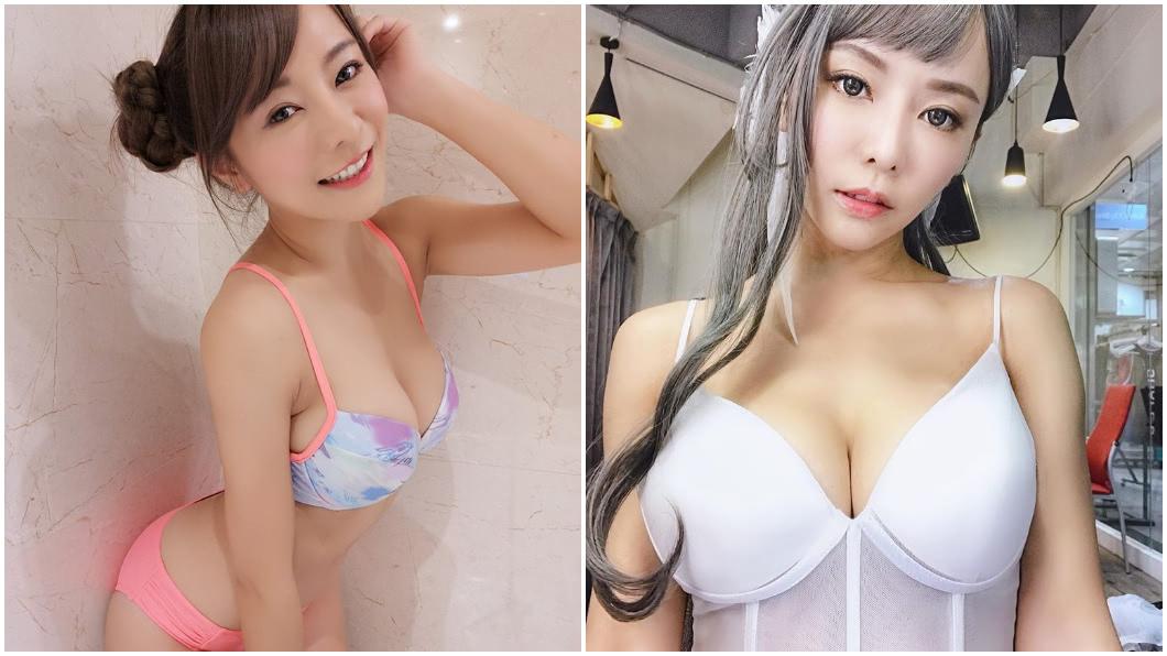 巫苡萱身材火辣。合成圖/翻攝巫苡萱 Ava Wu臉書