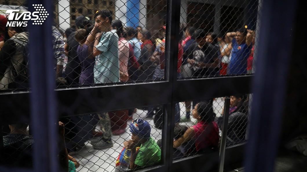 圖/達志影像路透社 川普政府改規定 未來將可無限期扣留移民兒童