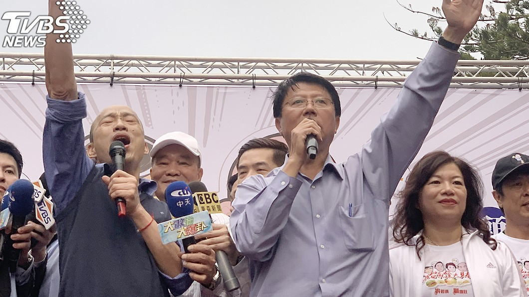 圖/中央社 冏!稱「看過追蹤器」遭打臉 謝龍介被封國民黨三寶
