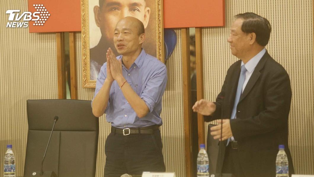 圖/中央社 美、日團接連參訪 韓國瑜:這代表對高雄重視