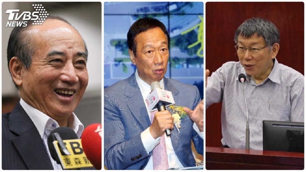 王金平、郭台銘和柯文哲確實3方關係密切,有望在2020這局合作。(合成圖/TVBS)