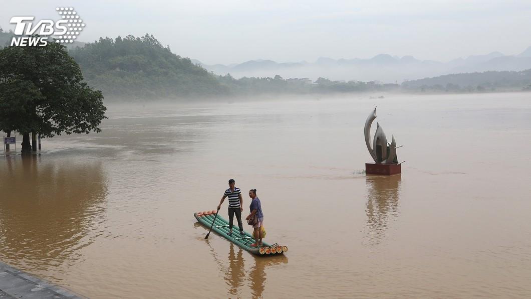 圖/達志影像路透社 中國進入主汛期 3個月內已627人死亡失蹤