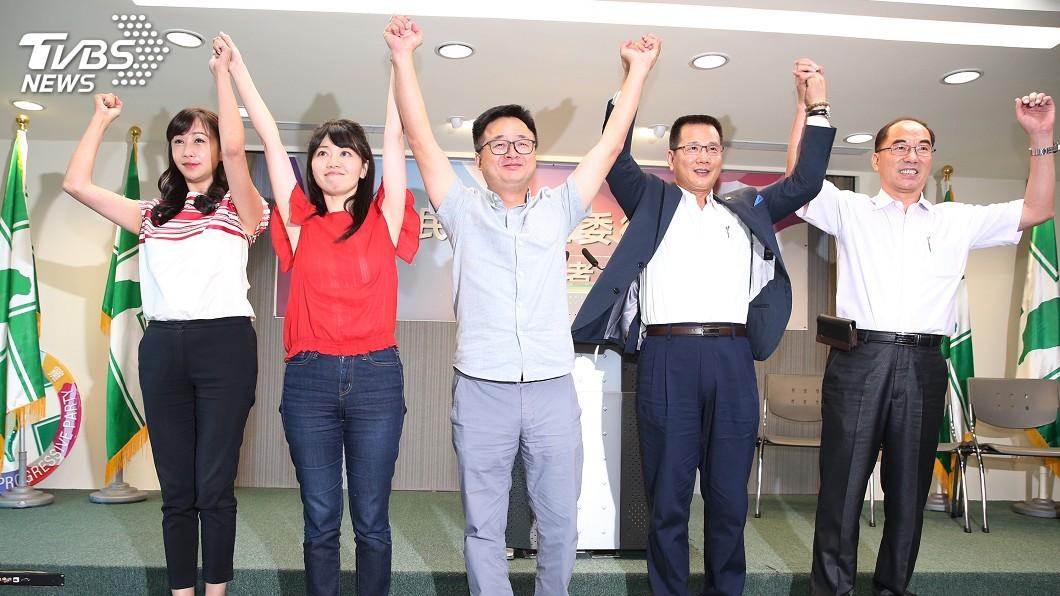 圖/中央社 民進黨松信提名許淑華 時力:打破協議深表遺憾