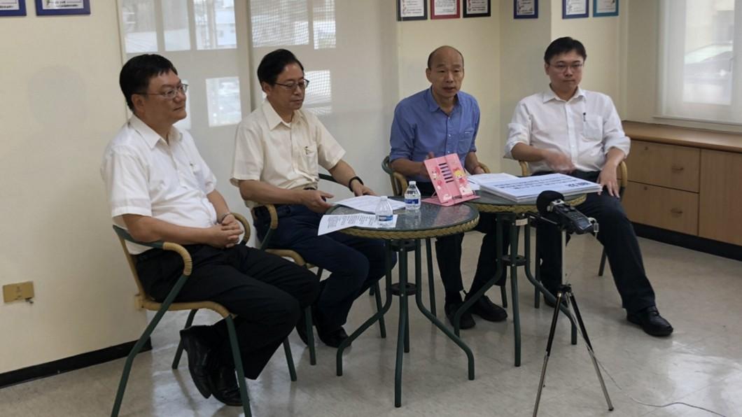 圖/ 韓國瑜競選總部提供 韓國瑜國政直播 綠委:竟變成核電佈道大會