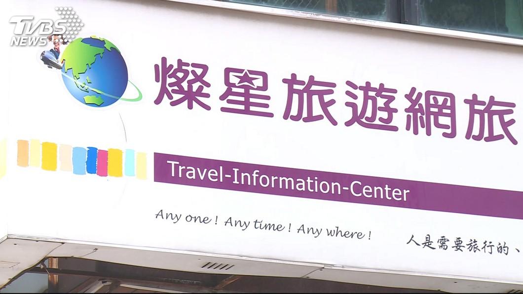 圖/TVBS 疫情未降溫旅行社股價腳軟 燦星旅慘跌停