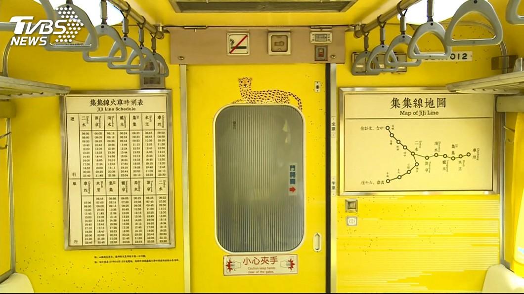 圖/TVBS 彩繪列車石虎像花豹惹議 觀光局長:新圖將有3款