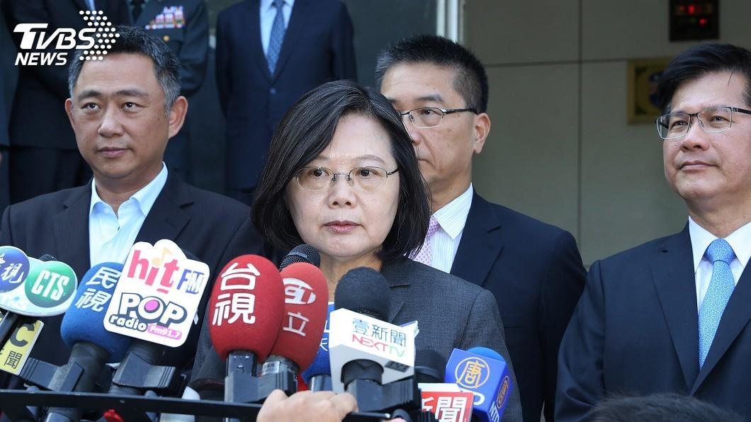 圖/中央社 韓國瑜自爆遭監控 蔡總統籲提告讓社會釋疑