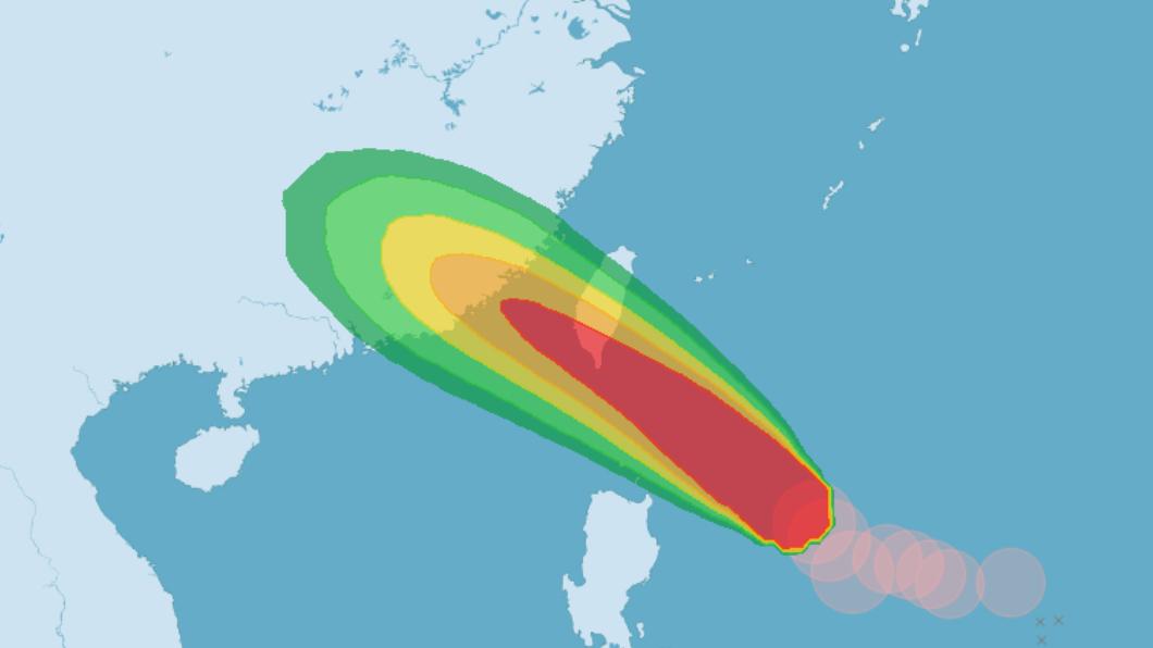 圖/中央氣象局 快訊/東琉線、後壁湖往蘭嶼綠島 週六船班停航