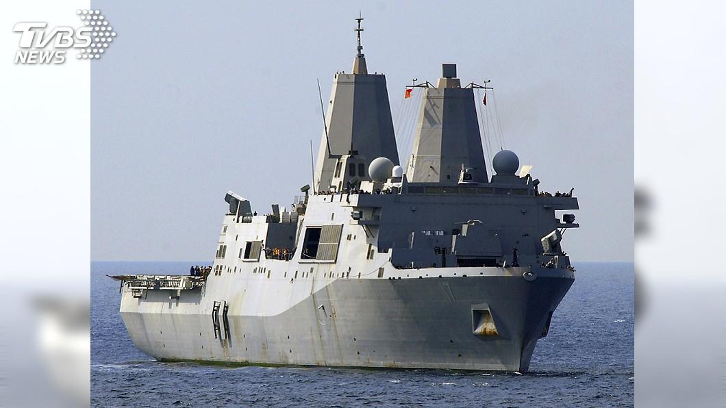 示意圖/達志影像路透社 剛批准售台F-16V 美國軍艦再度通過台灣海峽