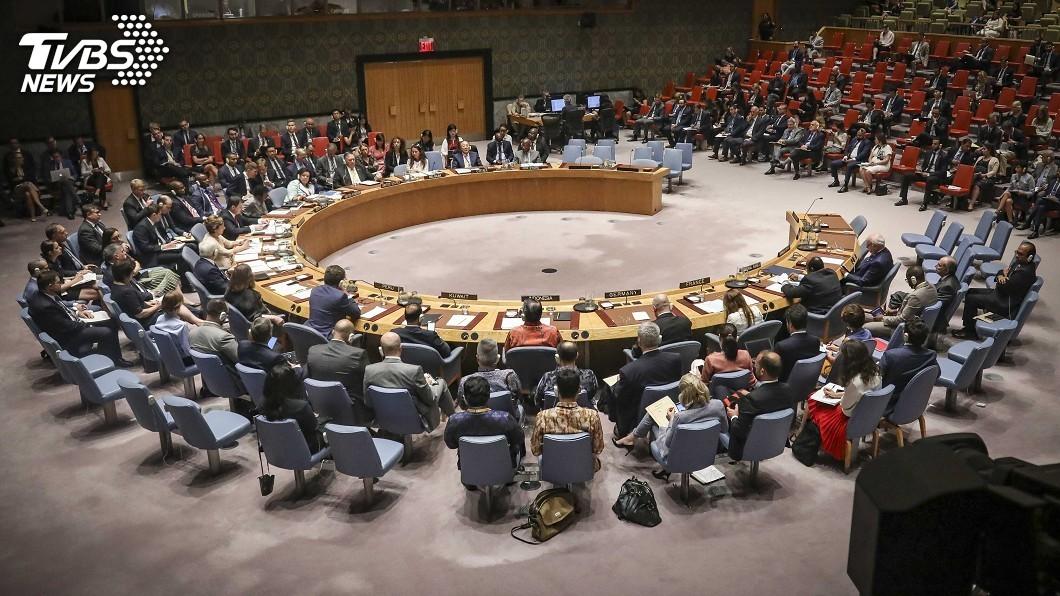 圖/達志影像美聯社 美俄棄中程核飛彈條約 聯合國安理會上互咬