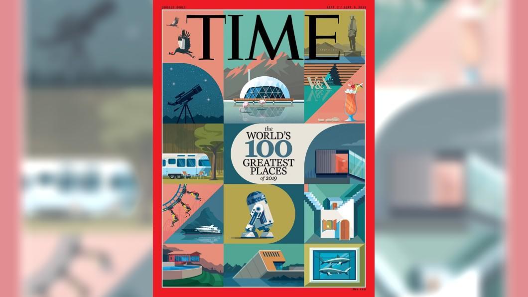 時代雜誌以品質、原創性、創造力、永續發展性及影響力,選出「2019年世界最佳景點」。圖/翻攝自時代雜誌網站