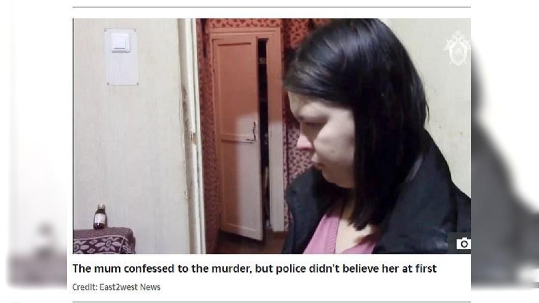 該名狠心人母坦承罪刑遭到逮捕。(圖/翻攝自太陽報)