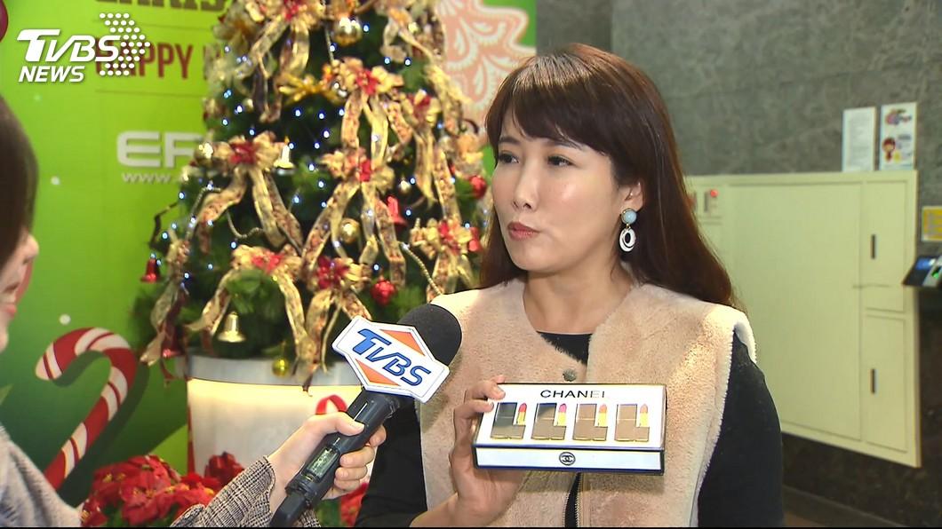 郭陣營永齡基金會副執行長蔡沁瑜表示,國民黨是否換瑜,那是他們的家務事。(圖/TVBS)
