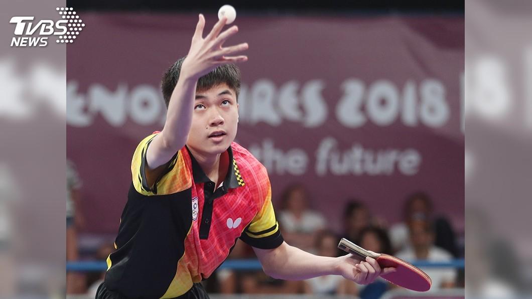 圖/中央社資料畫面 捷克桌球公開賽 林昀儒拍落歐夫恰羅夫奪冠