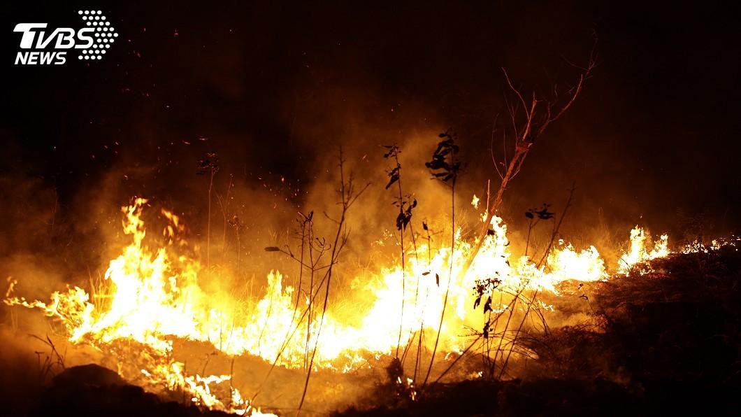 圖/達志影像美聯社 亞馬遜森林又增數百起野火 巴西出動軍機滅火