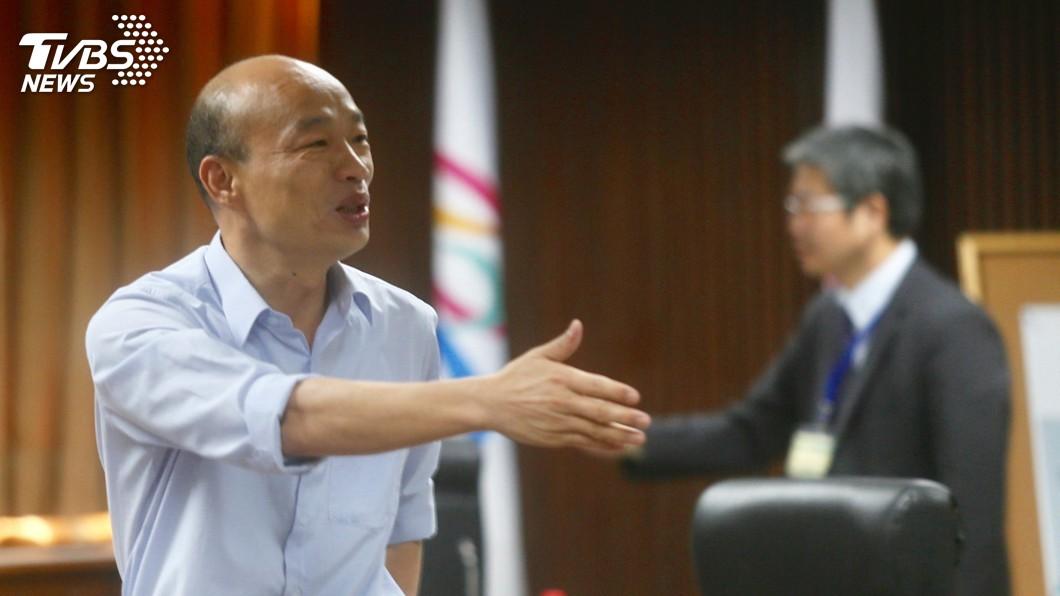 圖/中央社 臉書揭文憑 韓國瑜不滿被抹黑:一定提告