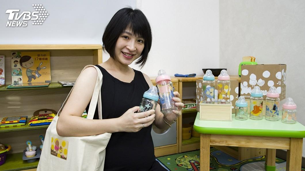 圖/新竹市政府提供 竹市府設計奶瓶彌月禮 獲德國紅點設計獎