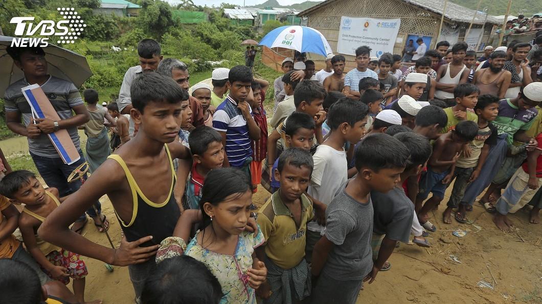 圖/達志影像美聯社 羅興亞人流亡2週年 20萬人高喊:我們要回家