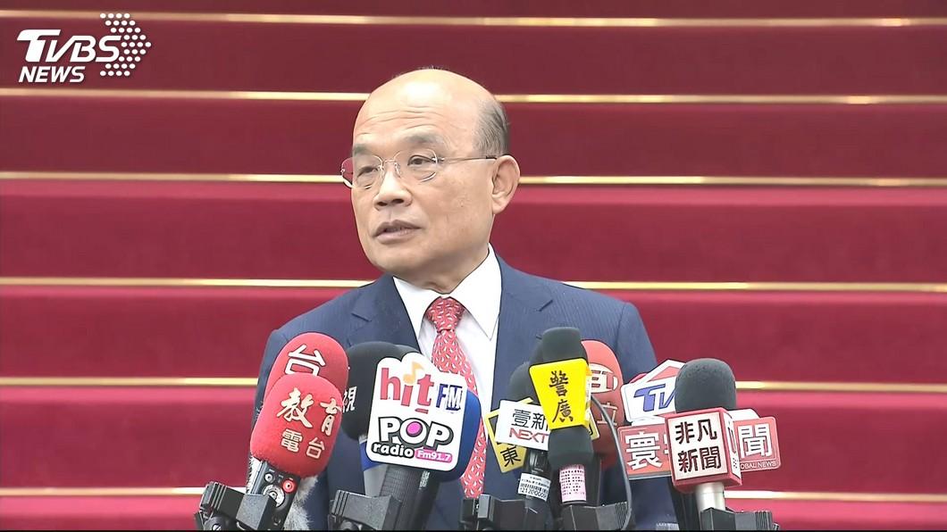 圖/TVBS 立委質詢問死刑議題 蘇貞昌:死刑定讞該執行就要執行