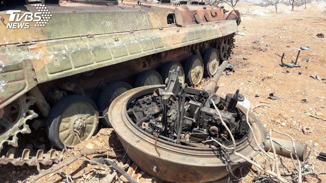 圖/達志影像路透社 敘利亞政府軍強攻伊德利布 艾爾段將訪俄會普欽